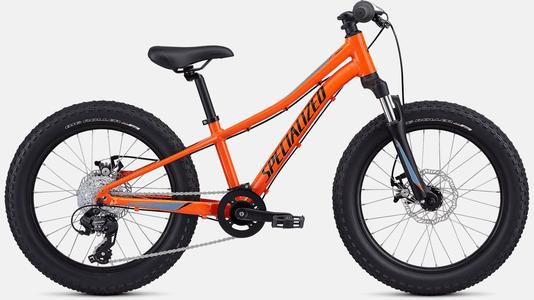 Bicicleta Specialized Riprock Aro 20 2021 Laranja e Preta e Cinza