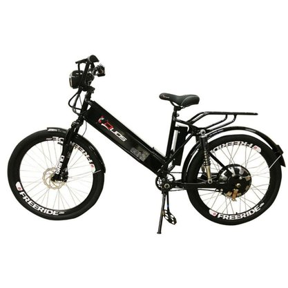 Bicicleta Elétrica Duos Confort Full Aro 26 800w Preta