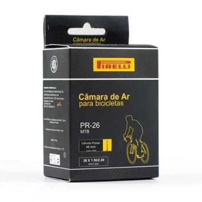 Câmara de Ar 26 Pirelli - Bico Fino Presta