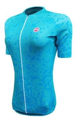 Camisa Barbedo Feminino Raglan Danubio Azul