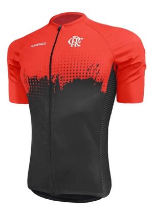 Camisa Barbedo Flamengo Nação Masculina Cor Preta e Vermelha
