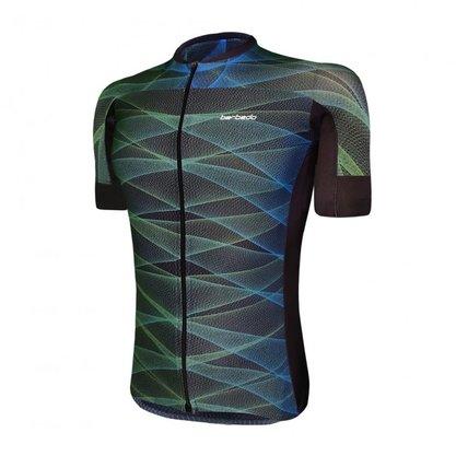 Camisa Barbedo Masculino Vanguarda Eufrates Verde e Azul