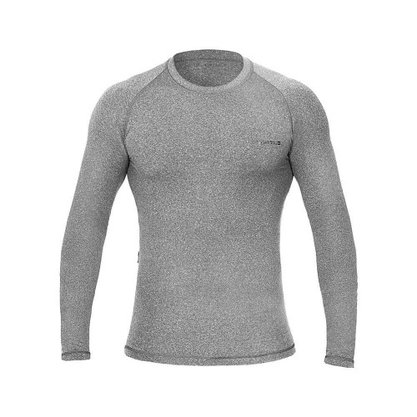 Camisa Segunda Pele Curtlo Thermo Sense Masculina Cinza