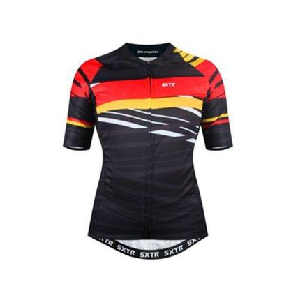 Camisa Sport Xtreme Slim Alemanha Preta e Vermelha