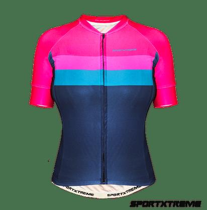 Camisa Sport Xtreme Slim Livade Rosa e Azul