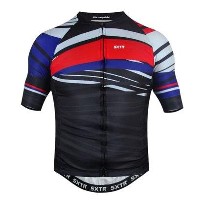 Camisa Sport Xtreme Slim USA Preta e Vermelha
