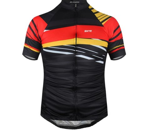 Camisa Sport Xtreme Sport Alemanha Preta e Vermelha
