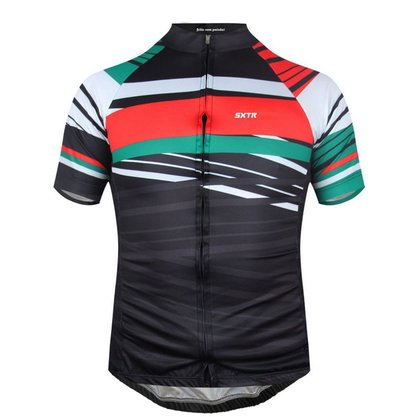 Camisa Sport Xtreme Sport Italia Preta e Verde
