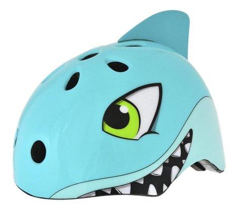 Capacete Infantil Kidzamo KZ-190 Shark Azul