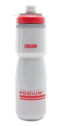 Caramanhola Camelbak Podium Chill 620ml Branco e Vermelho