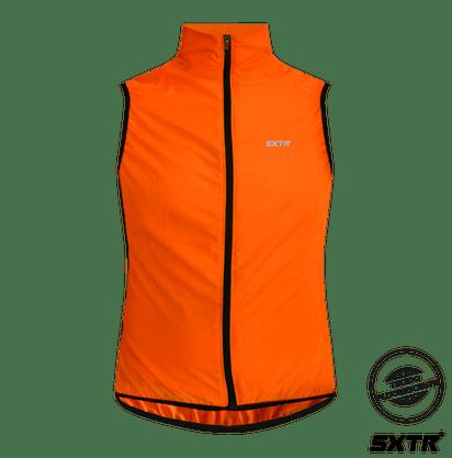 Colete Sport Xtreme Corta Vento Masculina Cor Laranja