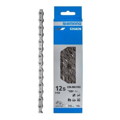 Corrente Shimano Deore CN-M6100 12v Com Quick Link 138 Elos