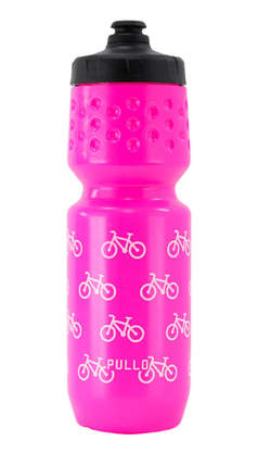 Garrafa Pullo 750ml Bike Rosa
