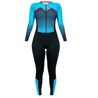 Macacão Sport Xtreme Confort Bianchi Azul