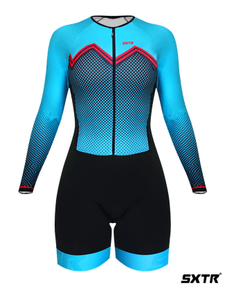 Macaquinho Sport Xtreme Comfort Manga Longa Bianchi