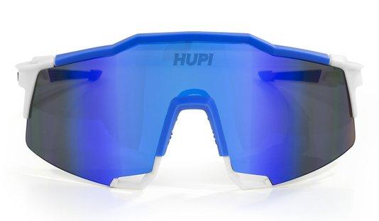 Oculos Hupi Stelvio Branco/Azul Lente Azul