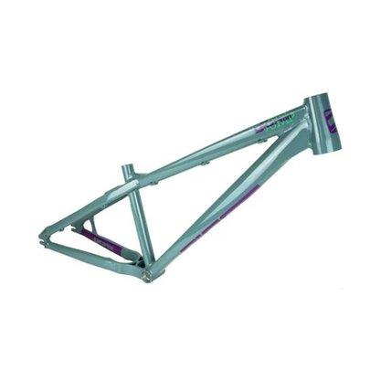 Quadro Aro 26/27,5 Gios Dirt Jump 2020 Cinza Ad. Verde/roxo