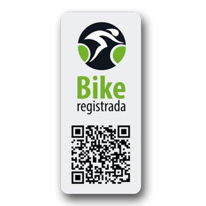 Selo de Segurança Bike Registrada - Proteção para Bicicletas