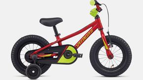 Bicicleta Specialized Riprock Coaster Aro 12 2021 Vermelho e Verde