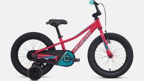 Bicicleta Specialized Riprock Coaster Aro 16 2021 Rosa e Turquesa