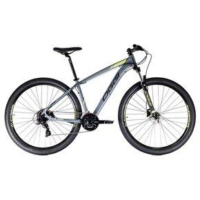 Bicicleta Oggi Hacker HDS Aro 29 Shimano 24v 2021 Cinza e Preta
