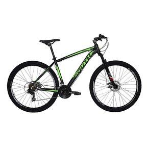 Bicicleta South Legend Yamada 21v Aro 29 Preta e Verde