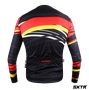 Camisa Sport Xtreme Slim Manga Longa Alemanha Vermelho e Amarelo