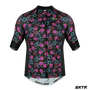Camisa SportXtreme Cycling Slim Preta e Rosa